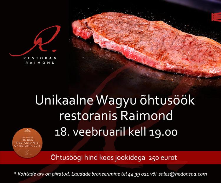 Wagyu FB-kutse